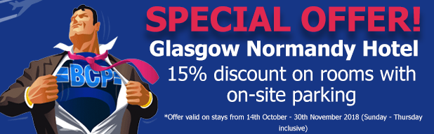 Glasgow Normandy Hotel offer